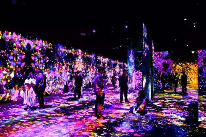 teamLab Borderless Review: Forest of Flowers and People: Lost, Immersed and Reborn