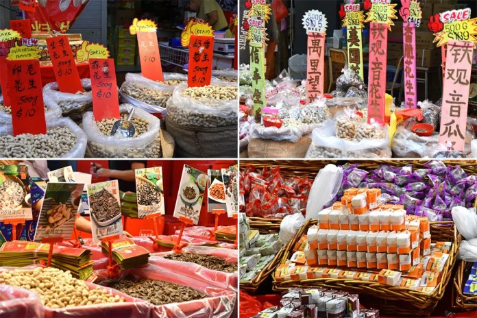 Chinese New Year Festive Snacks in Singapore.
