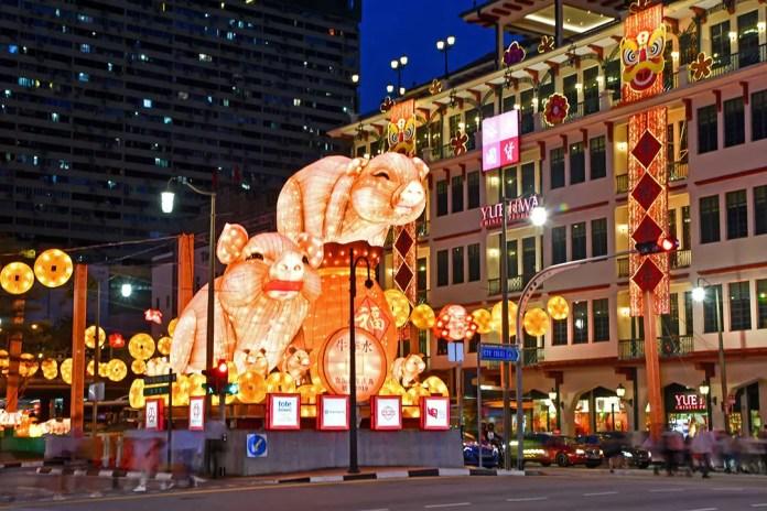 Chinatown Light-Up 2019 Main Display.