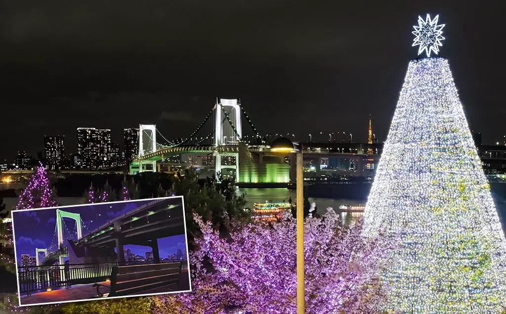 Persona 5 Tokyo Attractions   Odaiba-Kaihinkoen