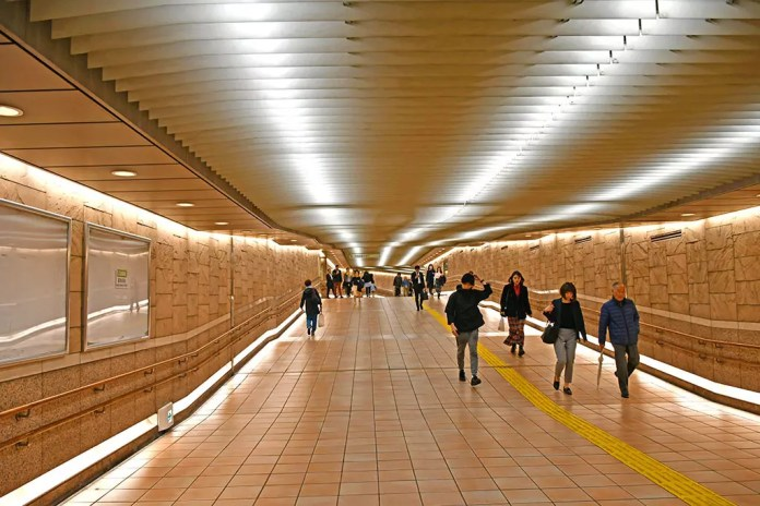 A Persona 5 Tourist in Tokyo   Sangenjaya Station Tunnel