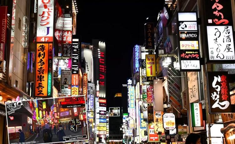 Persona 5 Tokyo Attractions   Shinjuku Red Light District