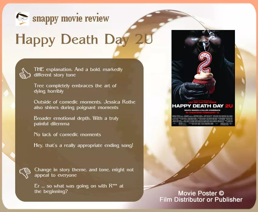 Happy Death Day 2U Review: 6 thumbs-up and 2 thumbs-down