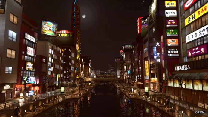 Yakuza 2 Sotenbori Riverwalk