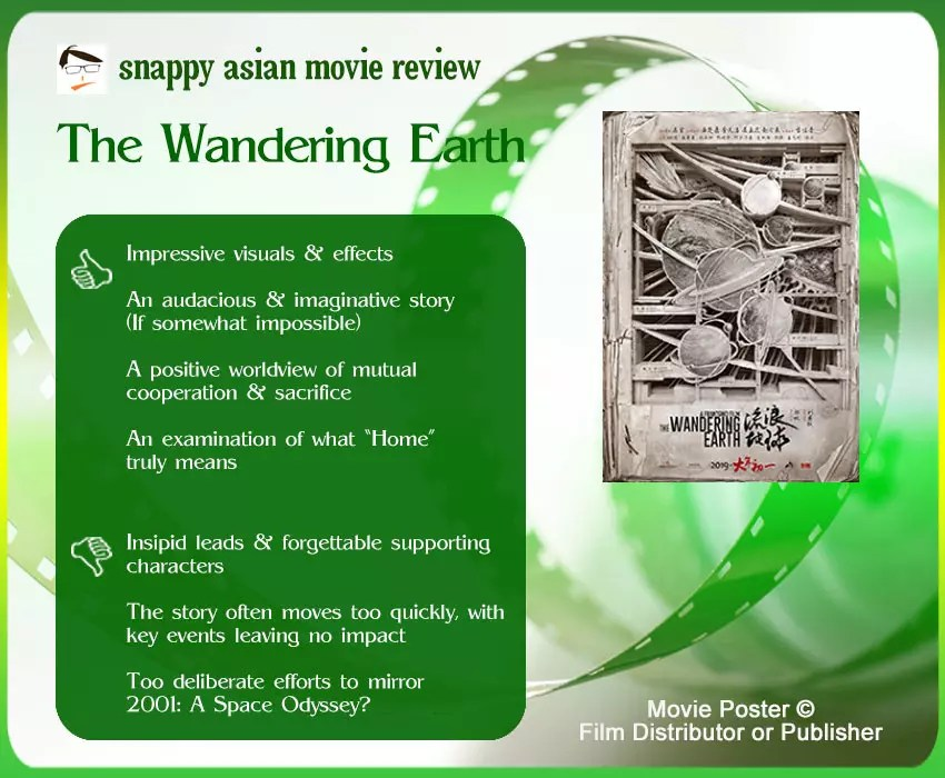 The Wandering Earth Review: 4 thumbs-up and 3 thumbs-down