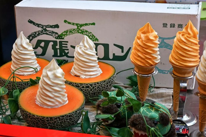 Melon Soft Serve at Resorts World Sentosa Summer Matsuri 2019