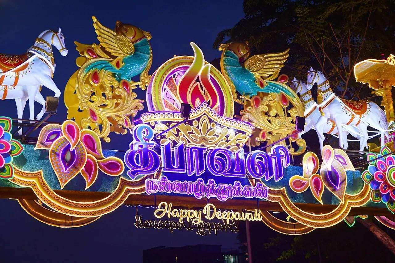Little India Deepavali Light-Up 2019