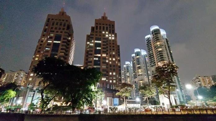 Great World City at Night