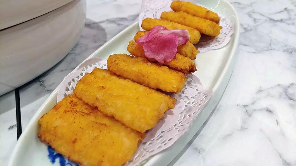 "Crispy-fried ""Tempura"" Sweet Corn."