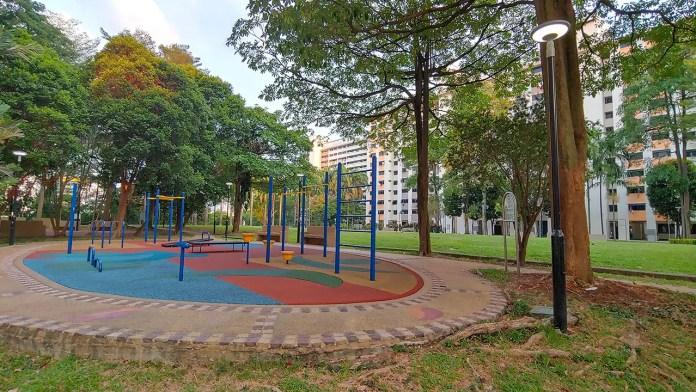 HDB Fitness Corner