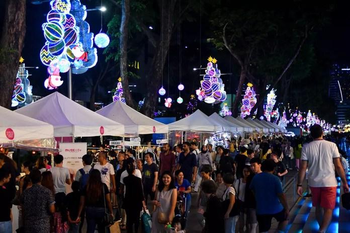 NAO Orchard Road November 2019