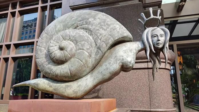 Parkview Square Art Sculpture