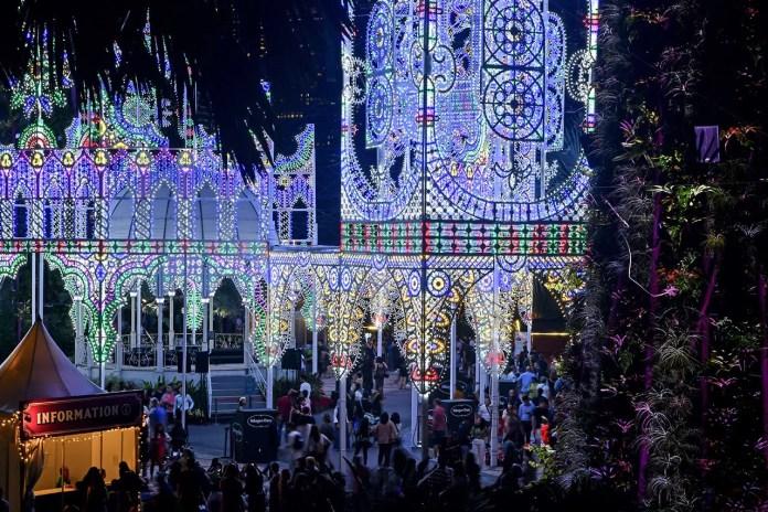Christmas Wonderland 2019 Supertree Grove