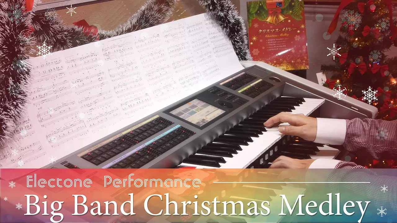 Electone Christmas Medley 2019