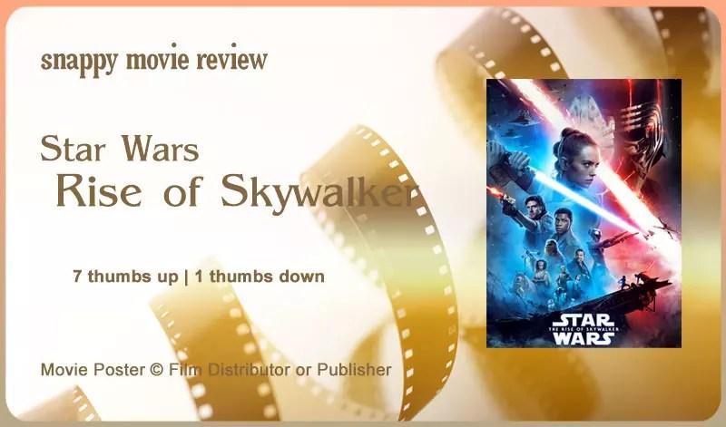 Star Wars: Rise of Skywalker Review
