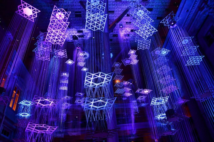 Light to Night 2020 Floating Cities.