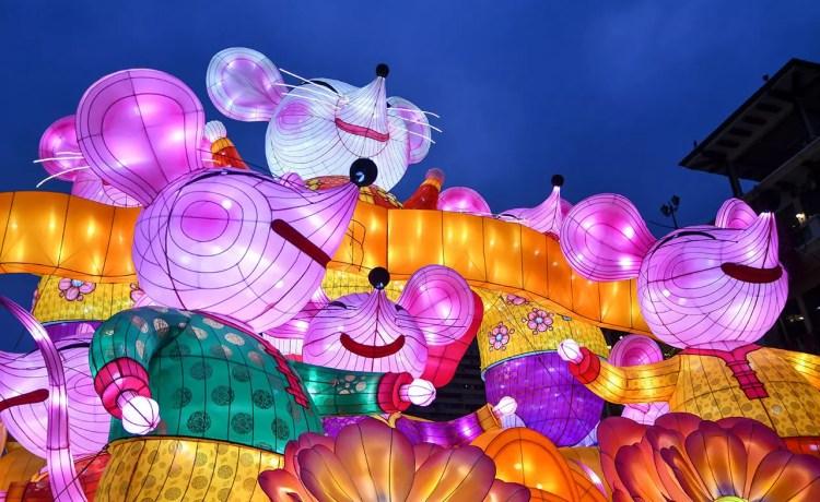 Chinatown Chinese New Year Light-Up 2020