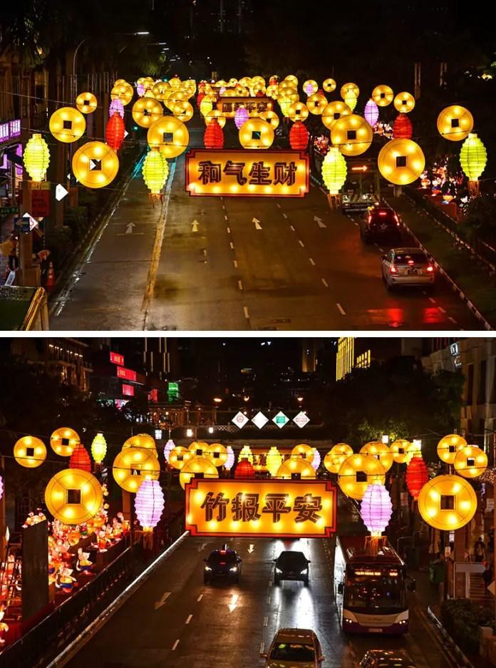 New Bridge Road CNY Festive Docations.