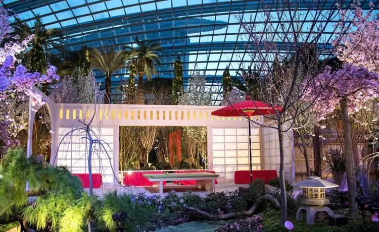 Sakura Matsuri 2020 at Gardens by the Bay, Singapore