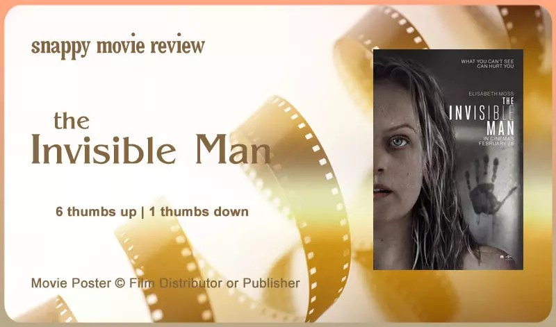 The Invisible Man Movie Review Title