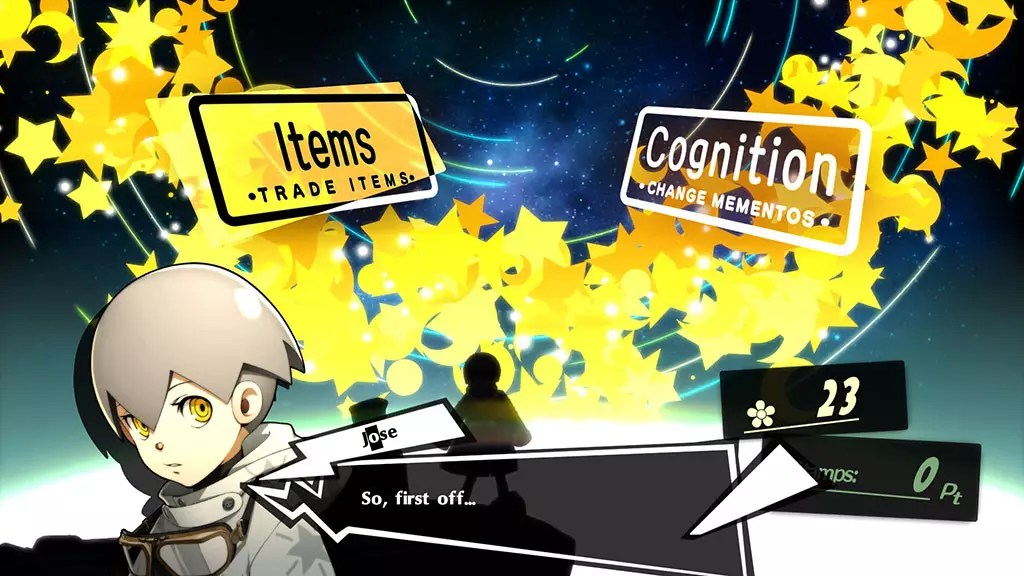 Jose's Shop in Persona 5 Royal