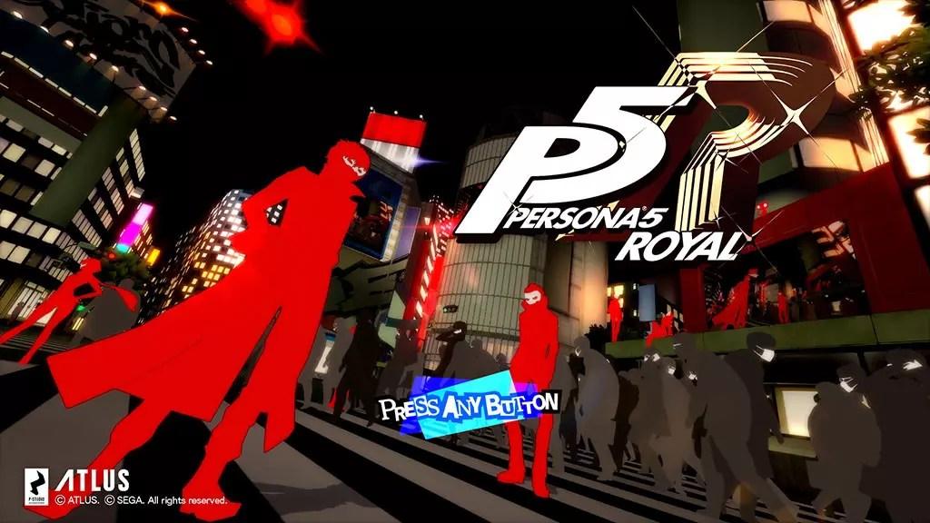 Persona 5 Royal Opening Screen