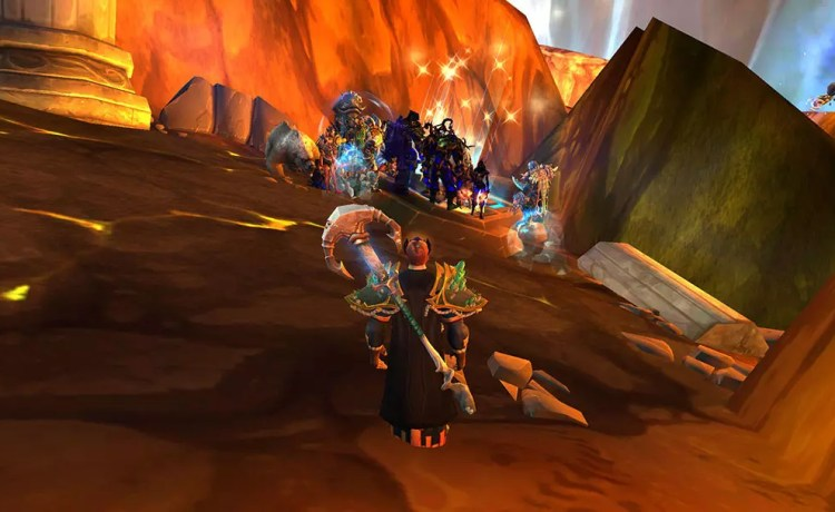 Social Distancing in World of Warcraft
