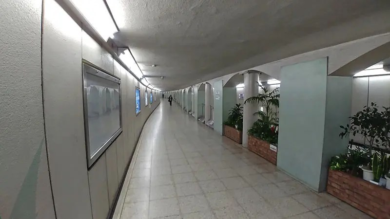 SMT IV Ueno Station Underground.