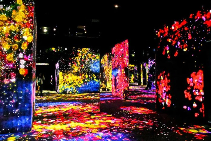 TeamLab Borderless Exhibition.