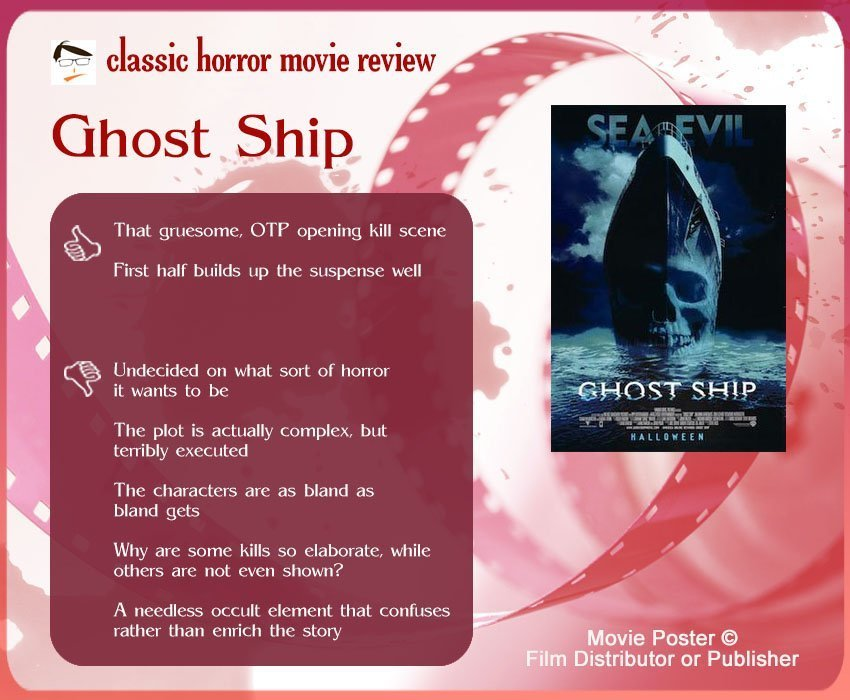 Ghost Ship Review: 2 thumbs-up and 5 thumbs-down.