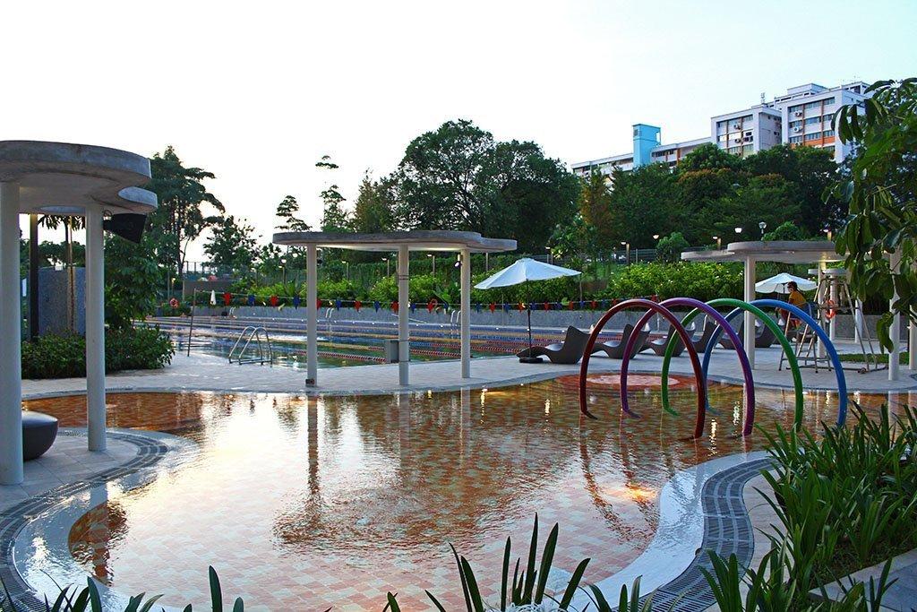 HomeTeamNS Khatib Swimming Pool.
