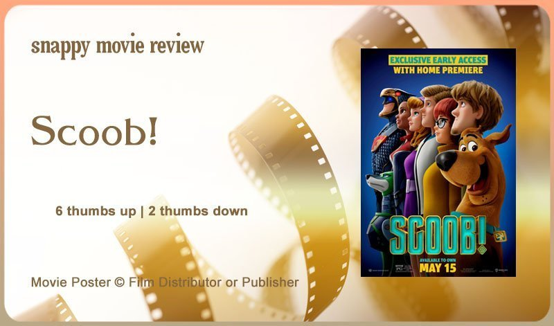 Scoob! Movie Review
