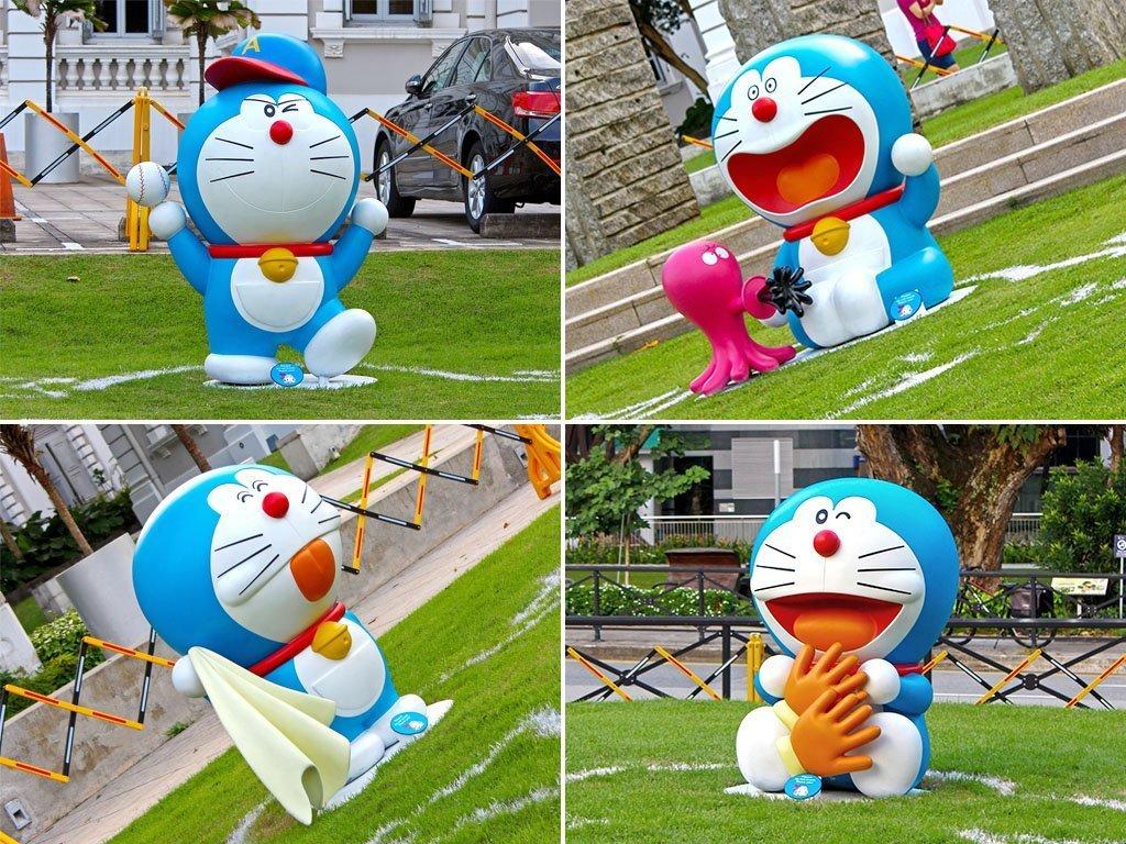 Doraemon in Singapore.