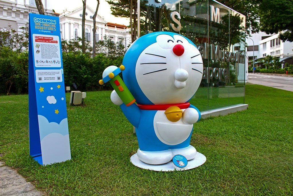 Doraemon with Shrink Ray.
