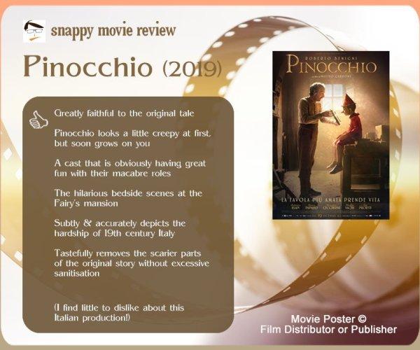 Pinocchio (2019) Review