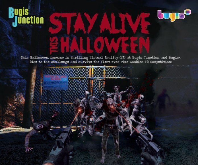 Stay Alive This Halloween at Bugis Junction.