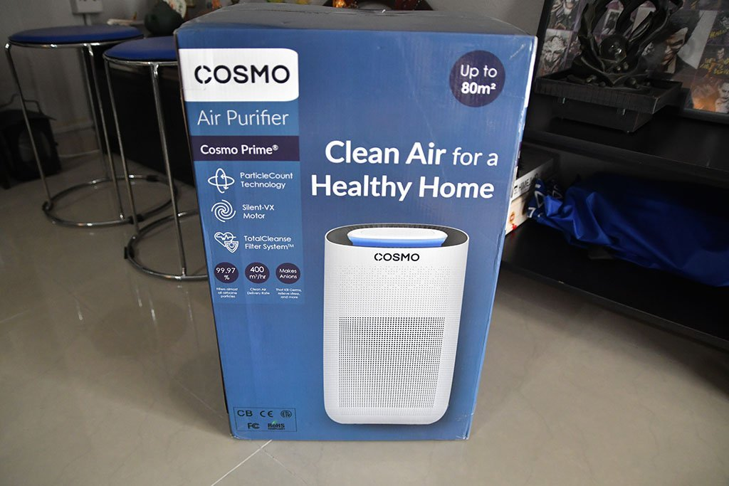 Cosmo Prime Air Purifier Delivery