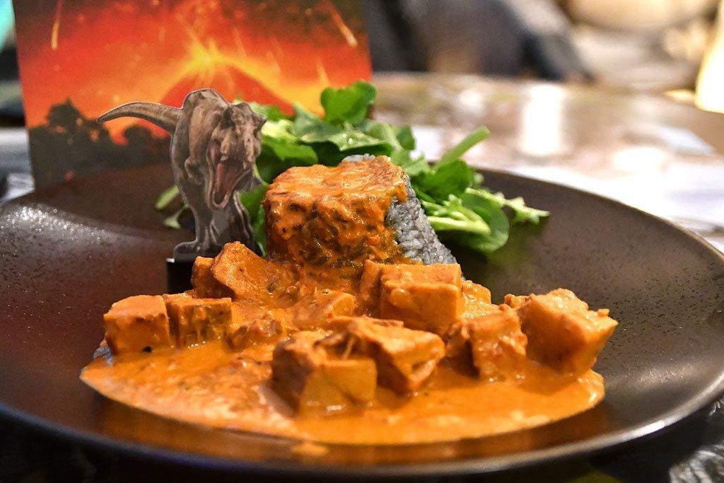 Volcano Curry.