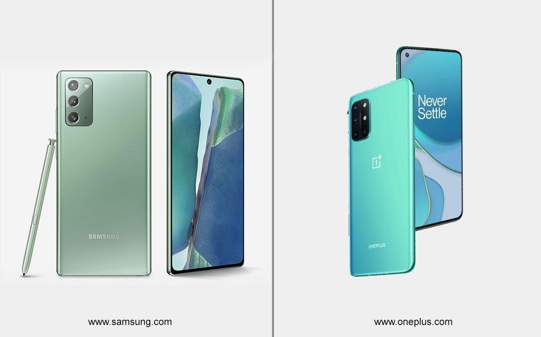 Smartphone Comparison –Samsung Galaxy Note 20 Ultra vs OnePlus