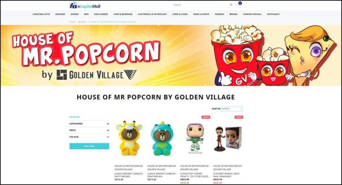 Christmas sale by House of Mr Popcorn.
