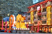 Chinatown Chinese New Year Light-Up 2021 | The Scribbling Geek