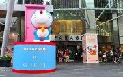 Doraemon x Gucci Exhibition (?) at Paragon Shopping Centre