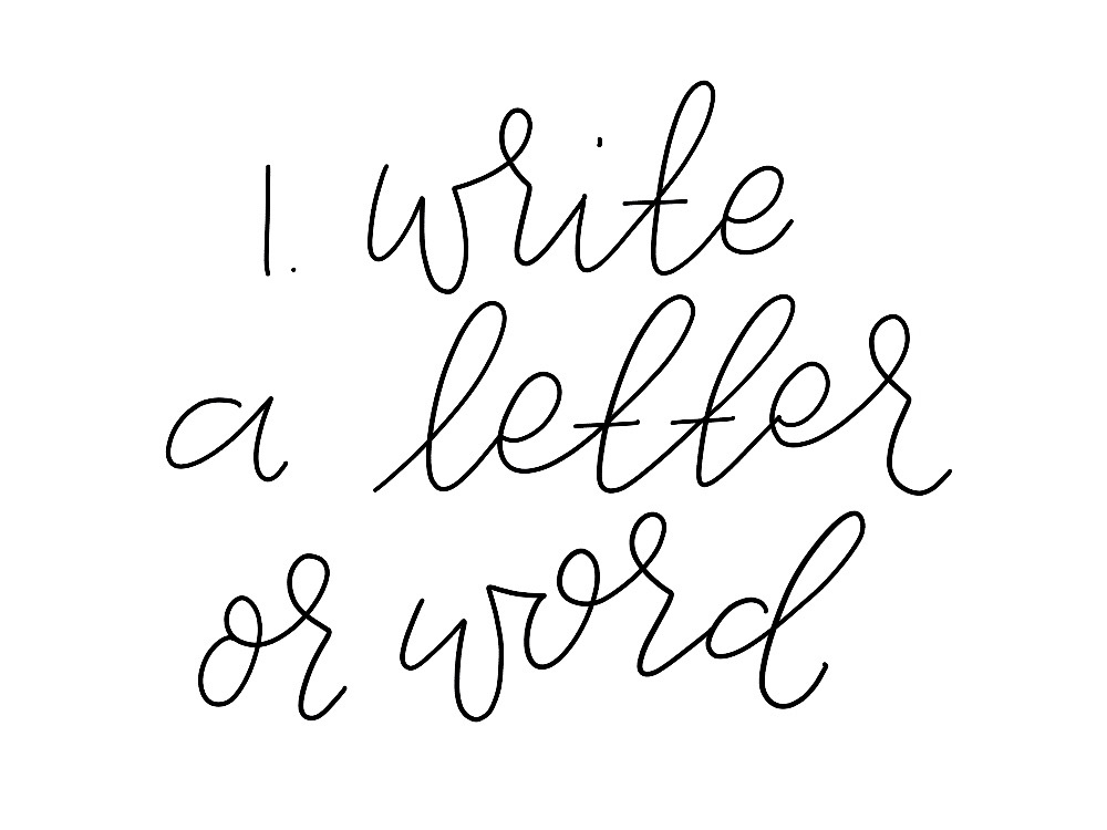 faux calligraphy is a great place to start to learn hand lettering you can