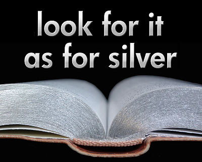search for it as for silver