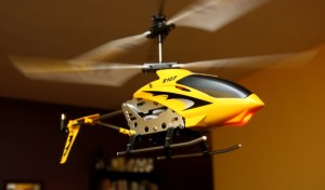 Picture of the S107 Flying