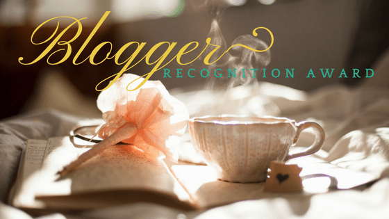 Il mio blog Diario #18 – BLOGGER RECOGNITION AWARD