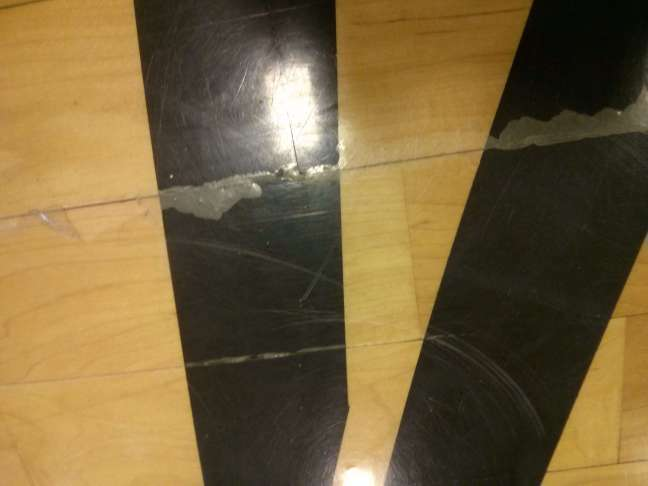 Example of Poor Floor Finish Adhesion