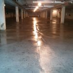 Parking Garage Concrete Floor Pressure Wash, Scrub and Cleaning Services in Minneapolis, MN