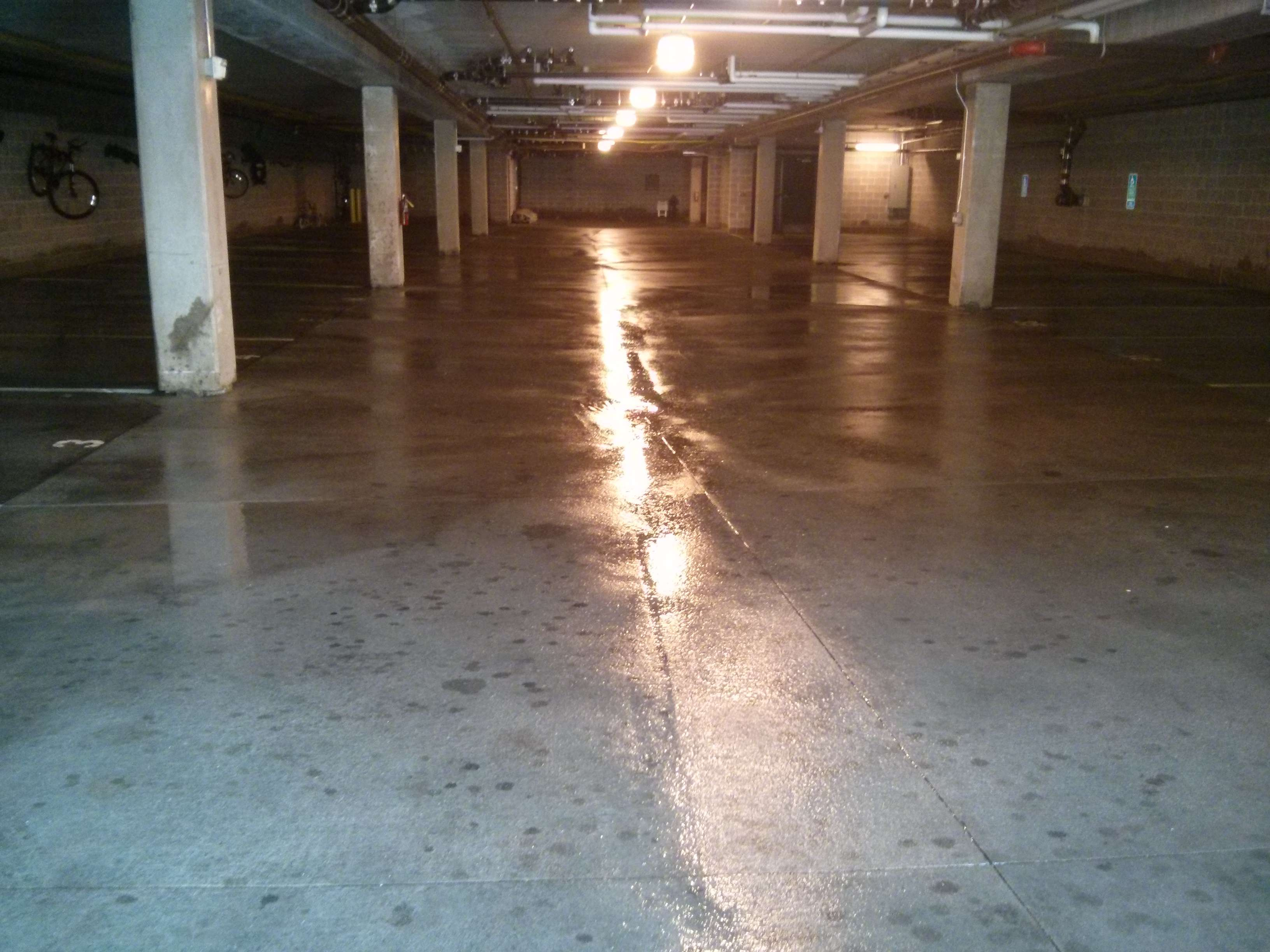 Parking Garage Pressure Wash Scrubbing Services in Minneapolis, MN