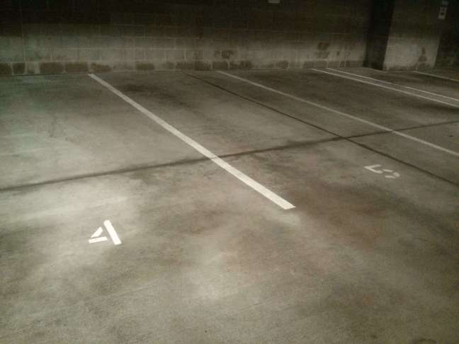 Parking Garage Concrete Floor Pressure Wash, Scrub and Cleaning Service in Woodbury, MN (2)